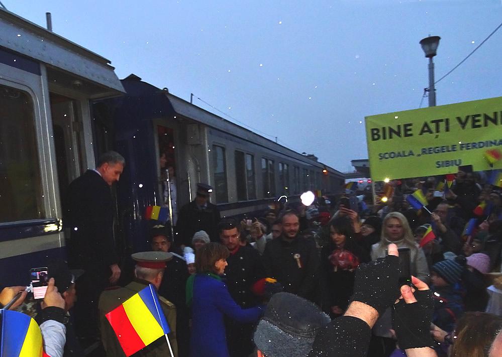 Trenul Regal la Sibiu