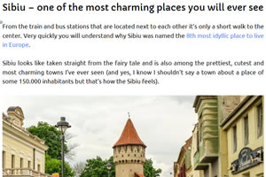 Sibiu – one of the most charming places you will ever see!